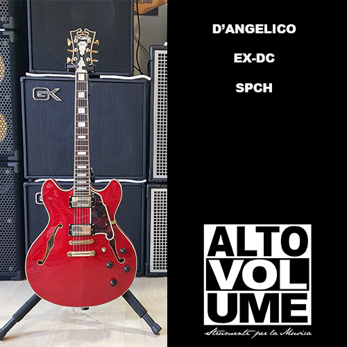 D'Angelico EX DC SPCH