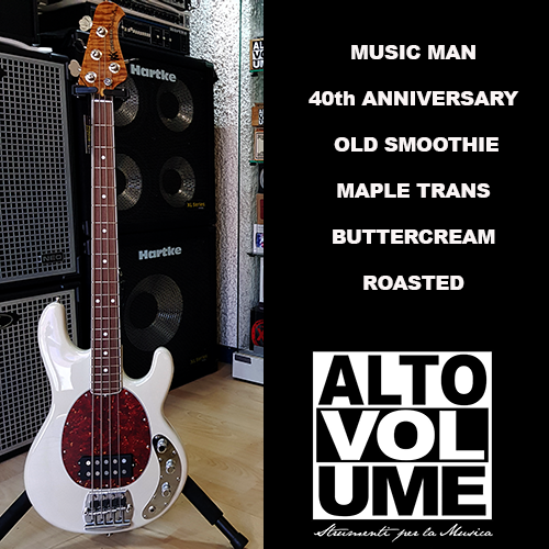 Music Man 40th Anniv. Old Smoothie  MAPLE TRANS BUTTERCREAM ROASTED