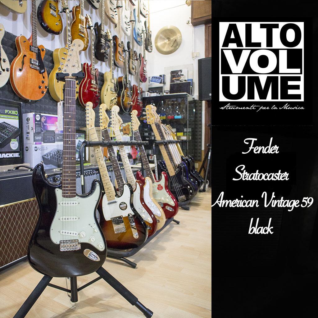 Fender American Vintage 59 Black