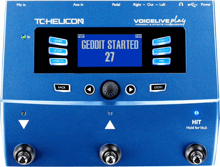 TC ELECTRONIC – HELICON VOICELIVE PLAY