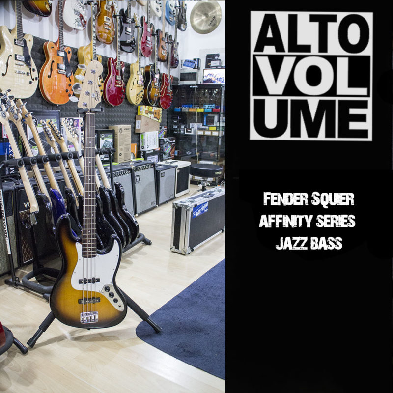 SQUIER FENDER  AFFINITY SERIES JAZZ BASS