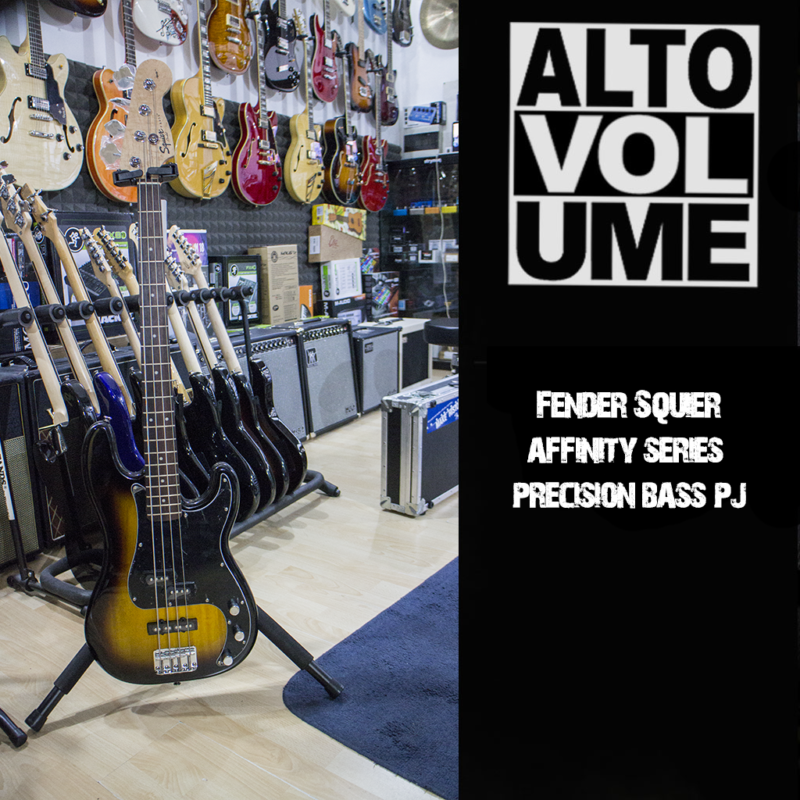 SQUIER AFFINITY SERIES PJ BASS