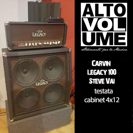 Corvin Legacy 100 Steve Vai Testata + cabinet 4x12