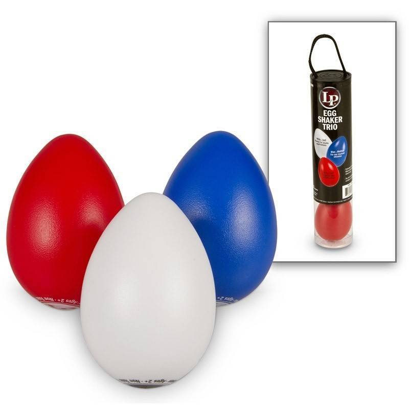 LATIN PERCUSSION SHAKER EGG TRIO LP016