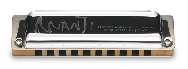 Suzuki World Class Harmonicas M-20-MP Manji  – C LOW KEY