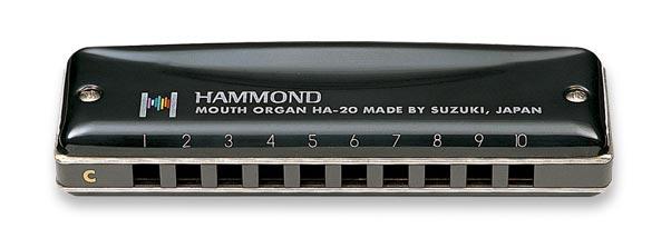 Suzuki World Class Harmonicas A-20 Promaster Hammond – TUTTE LE CHIAVI