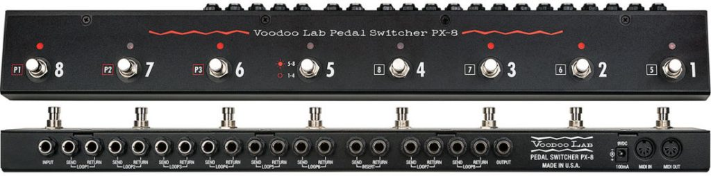 VODOO LAB PX 8 PLUS pedal switch