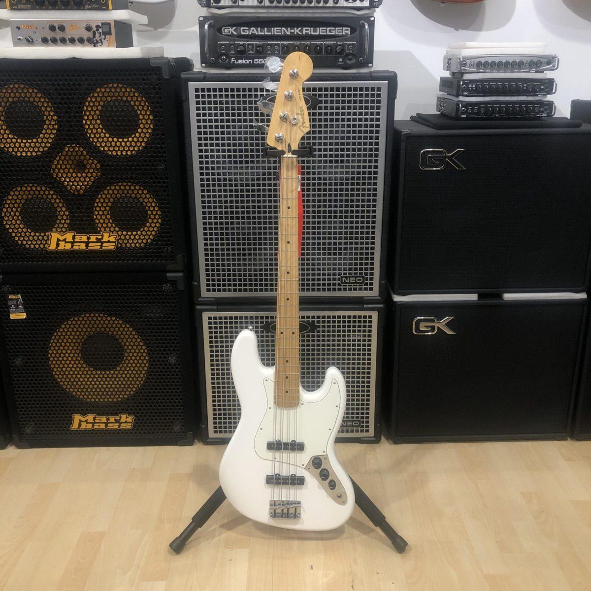 Fender Jazz Bass Player Polar White