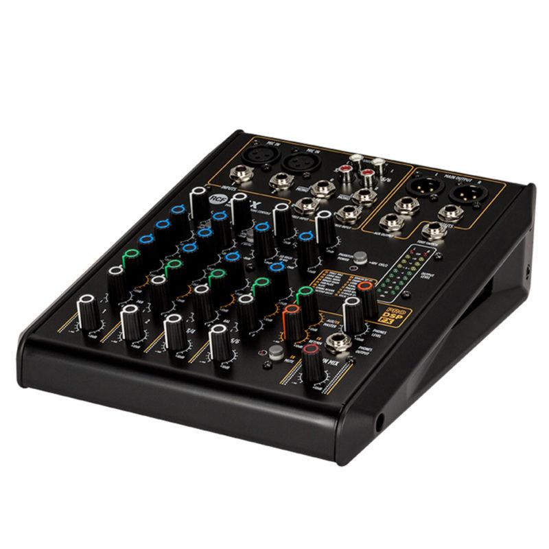 RCF F 6X CONSOLE AUDIO A 6 CANALI CON MULTI-FX