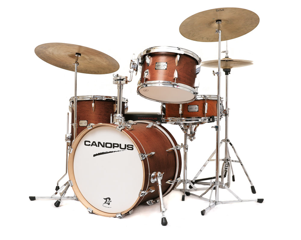 CANOPUS YAIBA II Bop Kit Antique Brown Mat LQ (Limited Color) MAPLE
