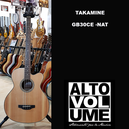 TAKAMINE GB30CE-NAT Acoustic Bass