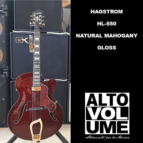 Hagstrom HL-550 Natural Mahogany Gloss