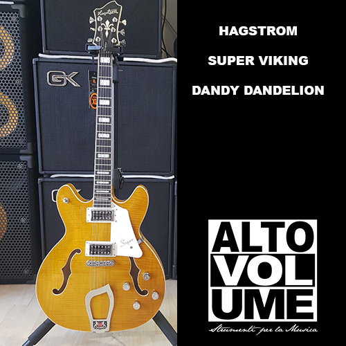Hagstrom Super Viking Dandy Dandelion finish