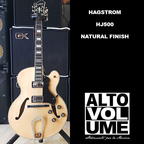 Hagstrom HJ 500 NATURAL FINISH