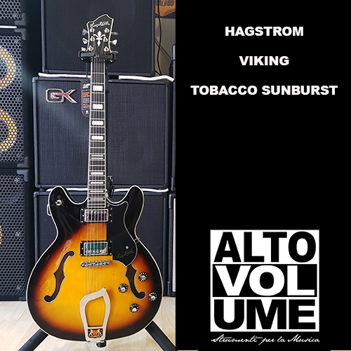 Hagstrom Viking Tobacco Sunburst
