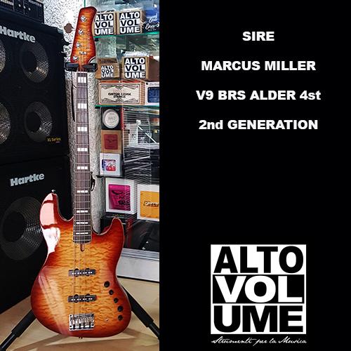 Sire Marcus Miller V9 4st BRS (Alder) 2nd Generation