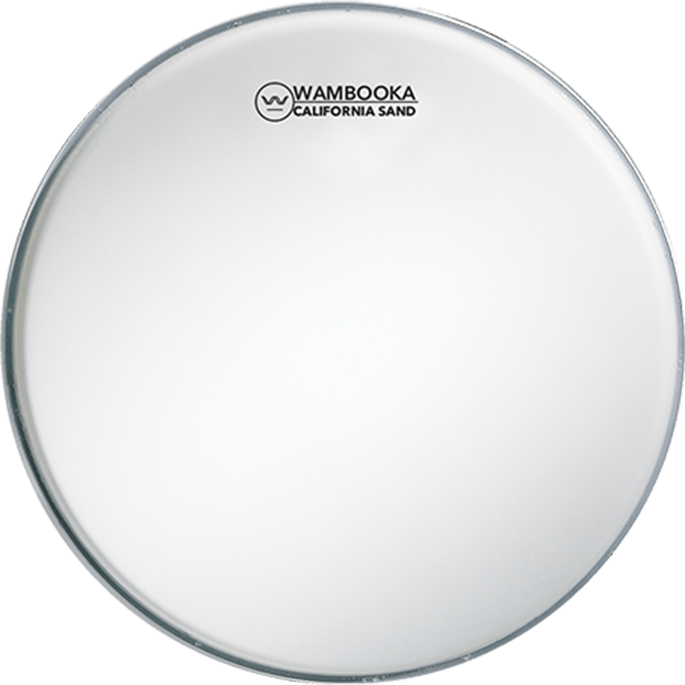 Wambooka Furious Drummer California Sand 14″ white coated
