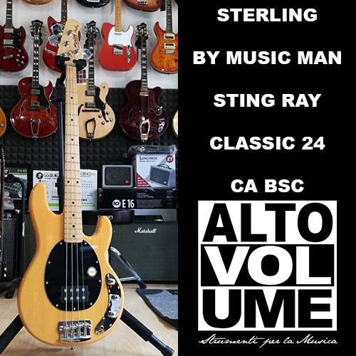 STERLING BY MUSIC MAN STING RAY CLASSIC 24 CA BSC