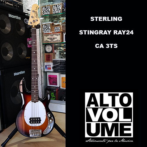 STERLING STINGRAY RAY24 CA 3TS