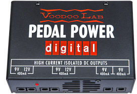 VOODOOLAB PEDAL POWER DIGITAL  POWER SUPPLY