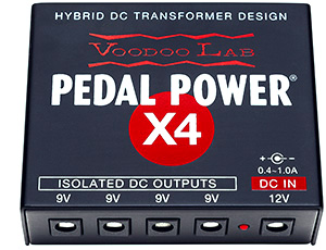 VOODOOLAB PEDAL POWER X4