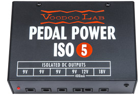 VOODOOLAB PEDAL POWER ISO-5