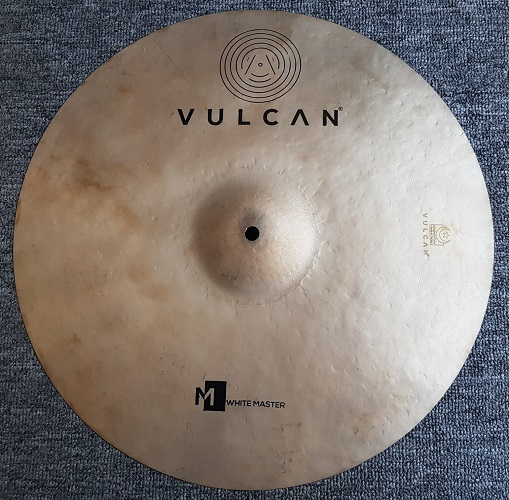 VULCAN – WHITE MASTER CRASH 18″