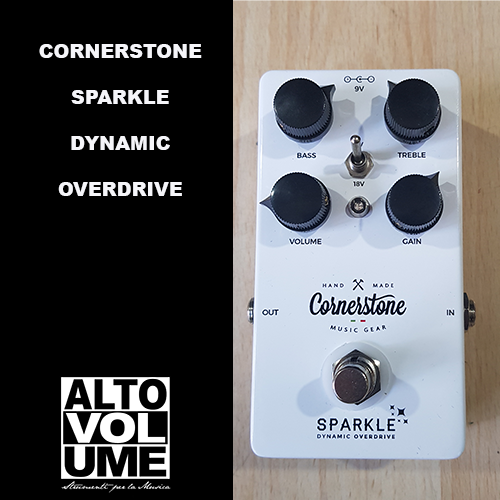 CORNERSTONE – SPARKLE DYNAMIC OVERDRIVE