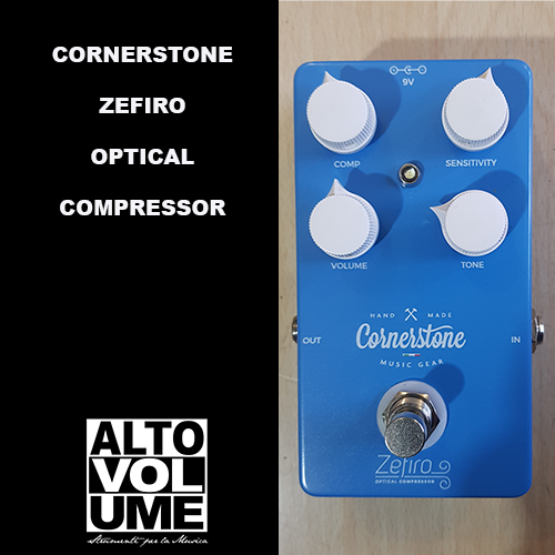 CORNERSTONE – ZEFIRO OPTICAL COMPRESSOR