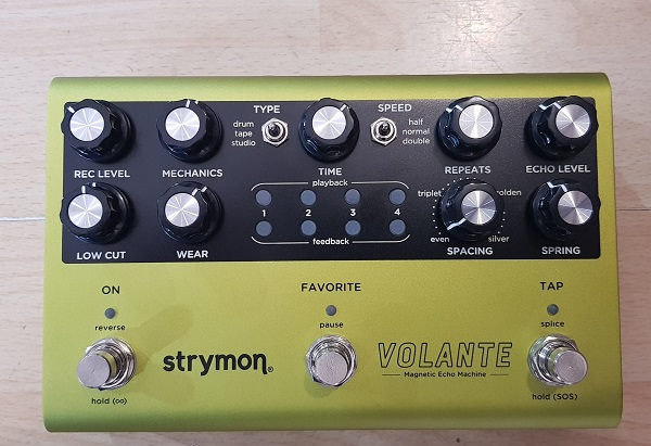 STRYMON – VOLANTE MAGNETIC ECHO MACHINE