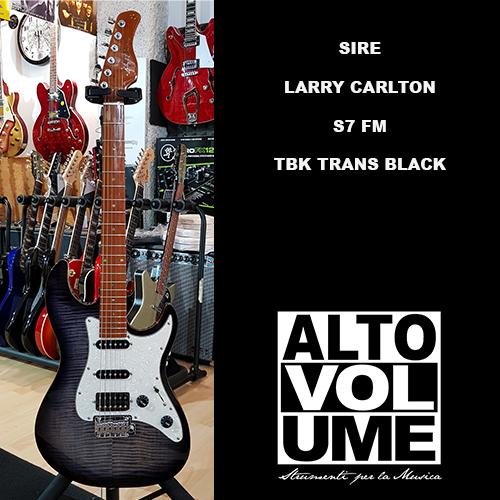SIRE LARRY CARLTON S7 FM TRANS BLACK TBK