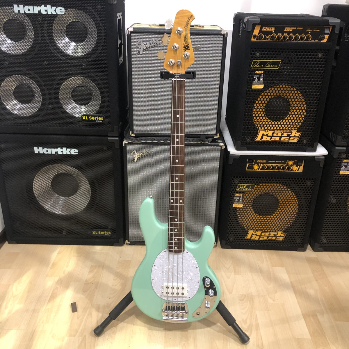 Music Man Stingray Classic 4 Mint Green