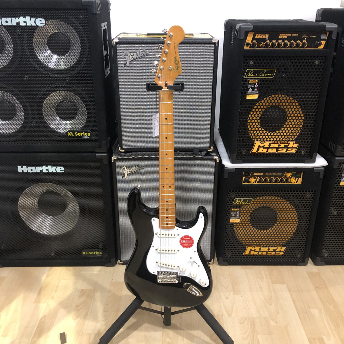 Squier Stratocaster Classic Vibe 60 Black
