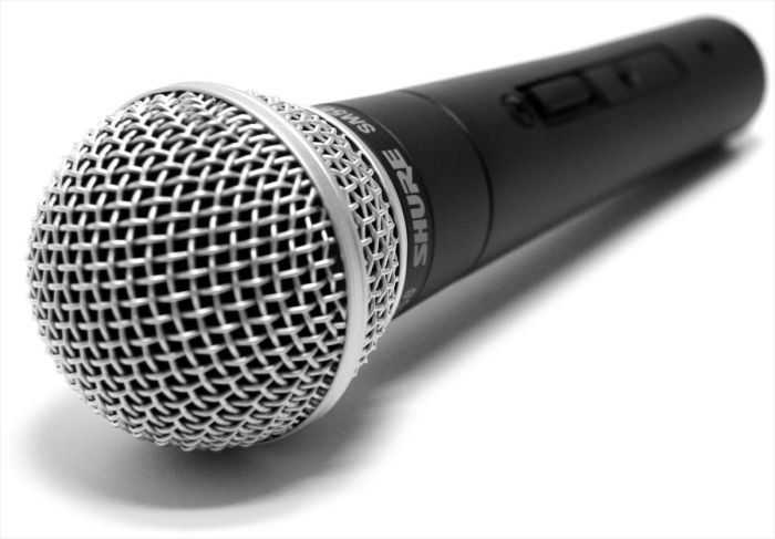 shure sm58 podcasting interviews 1