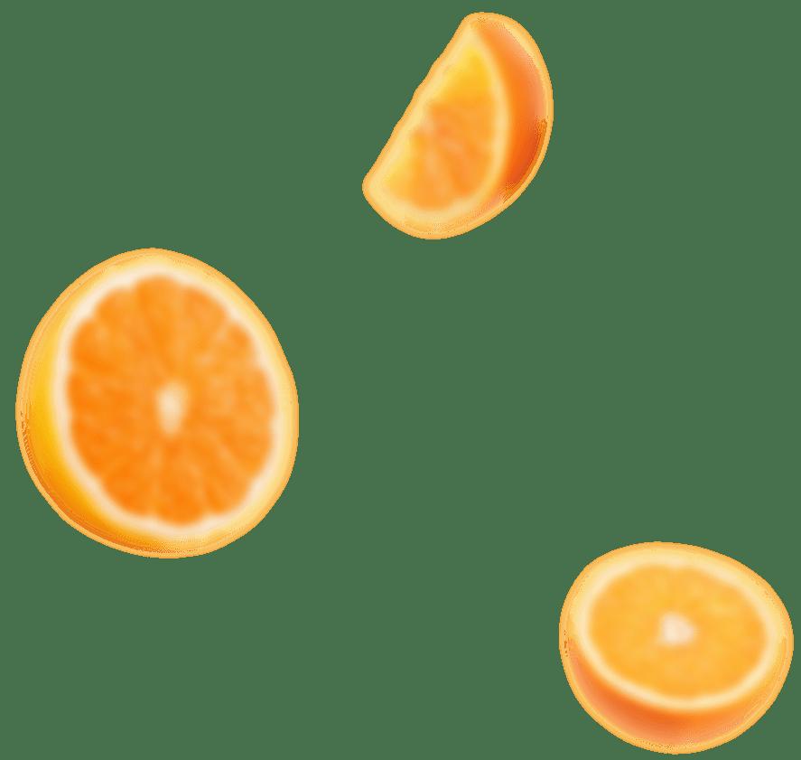 organic orange left